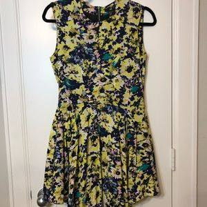 H&M Flowered A line dress